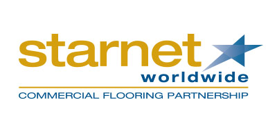 Starnet Worldwide Commercial Flooring Partnership logo