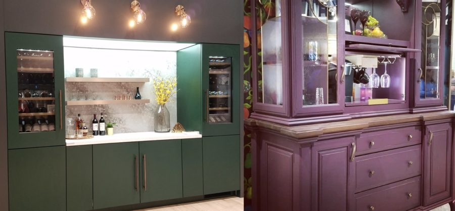 Colorful Cabinetry