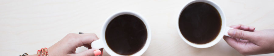 Closeup photography of coffee cups