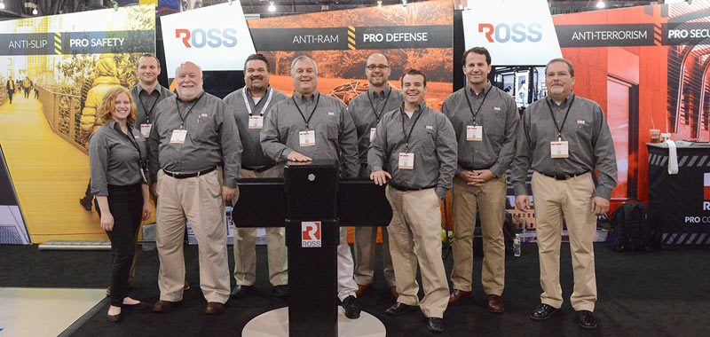 ross trade show booth