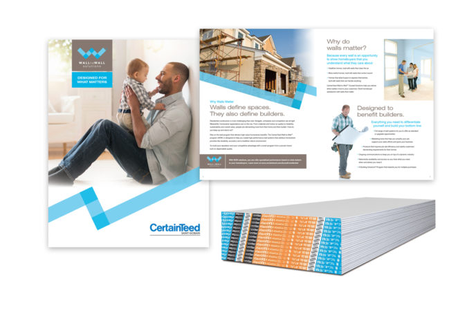 "CertainTeed Gypsum ""Walls Matter"" Campaign"