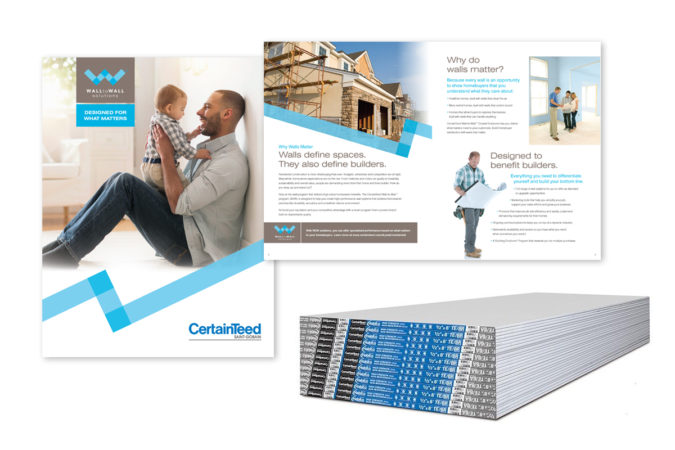 CertainTeed Walls Matter Collateral Materials