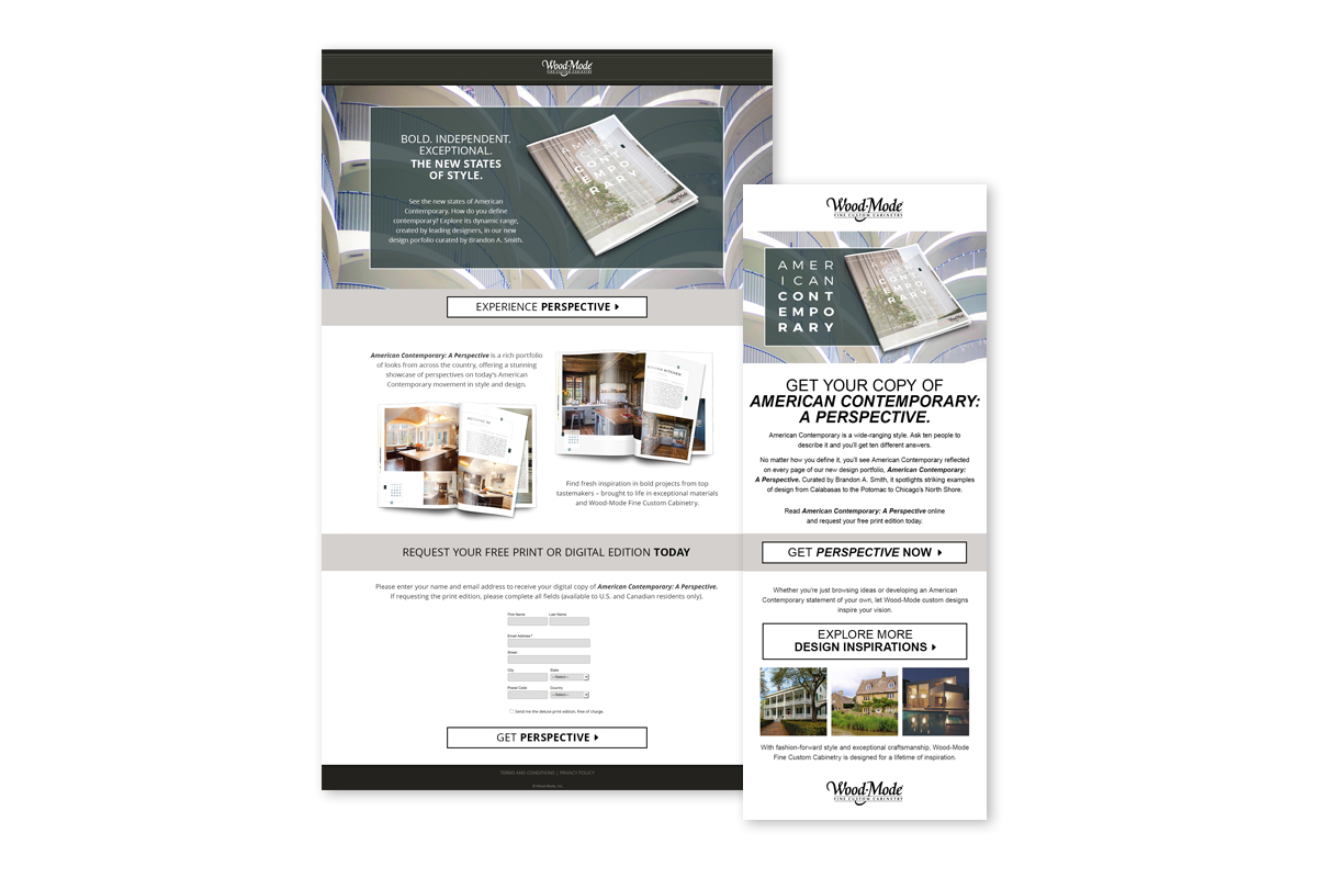 Wood-Mode American Contemporary Marketing Materials